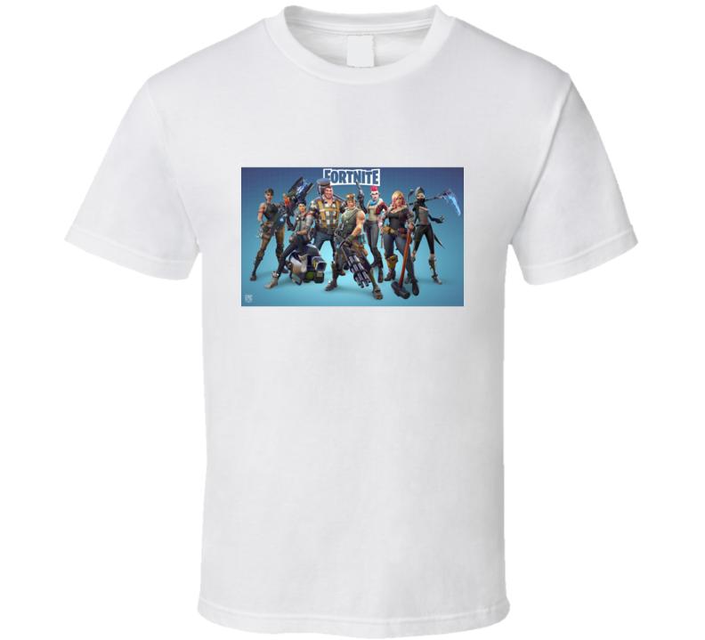 Fortnite Video Game Character Art Online Shooter T Shirt