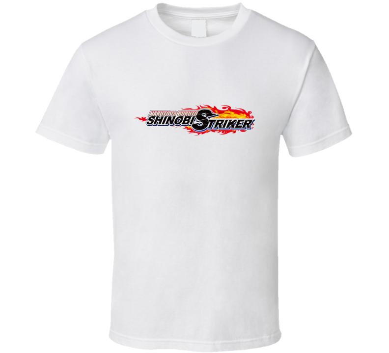 Naruto To Boruto Shinobi Striker Video Game Logo T Shirt