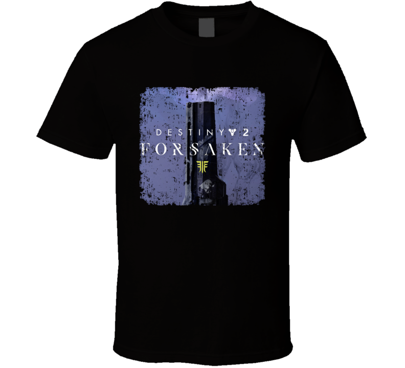 Destiny 2 Forsaken Video Game Shooter Image Aged T Shirt
