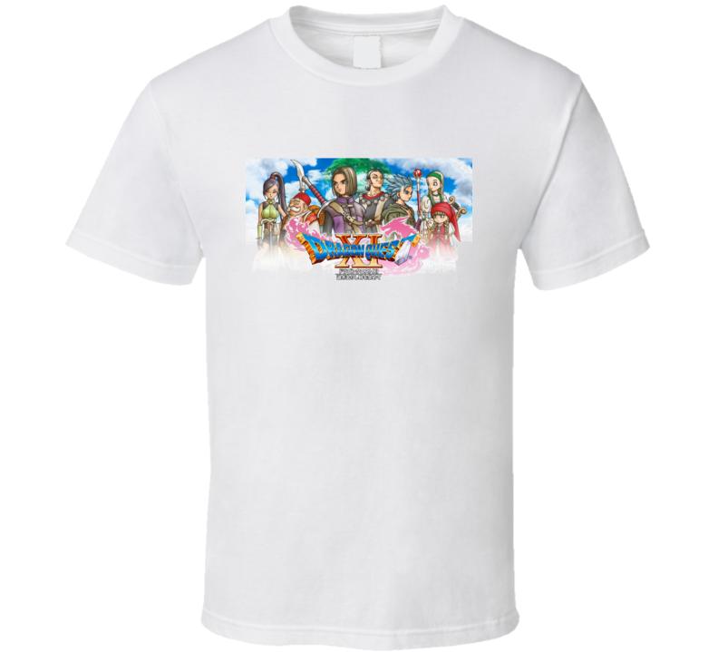 Dragon Quest Xi 11 Video Game Rpg White T Shirt