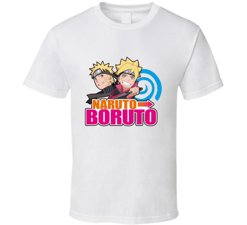 Naruto To Boruto  Video Game Logo Anime T Shirt