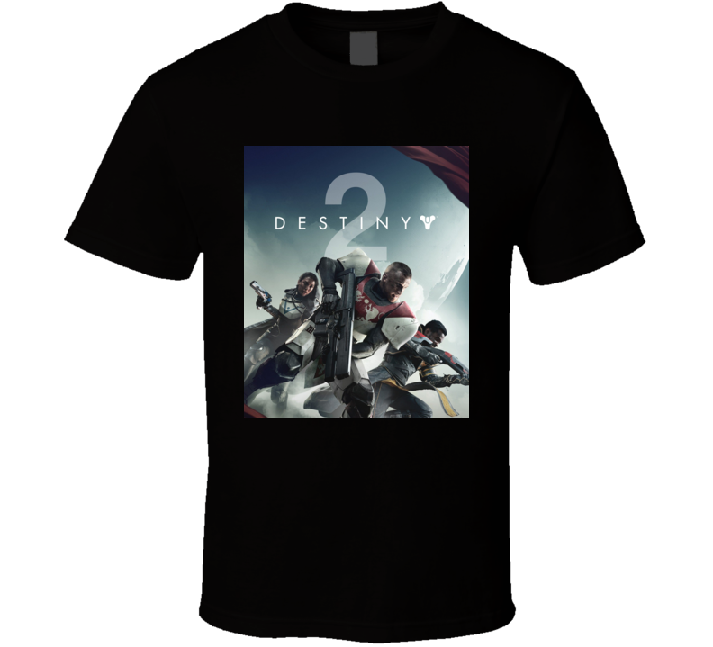 Destiny 2 Video Game Shooter Cover T Shirt