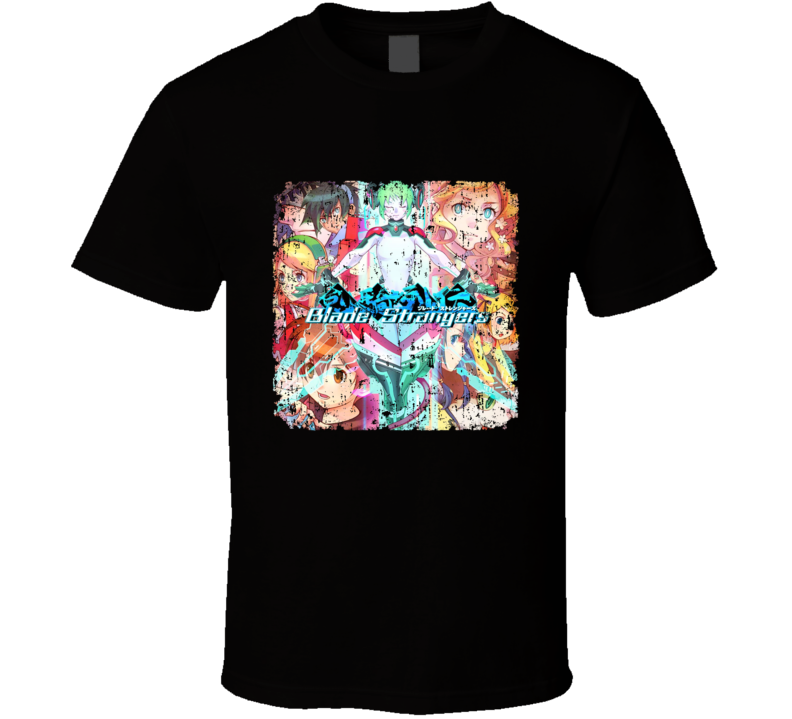 Blade Strangers Video Game Fighting Cover Aged T Shirt
