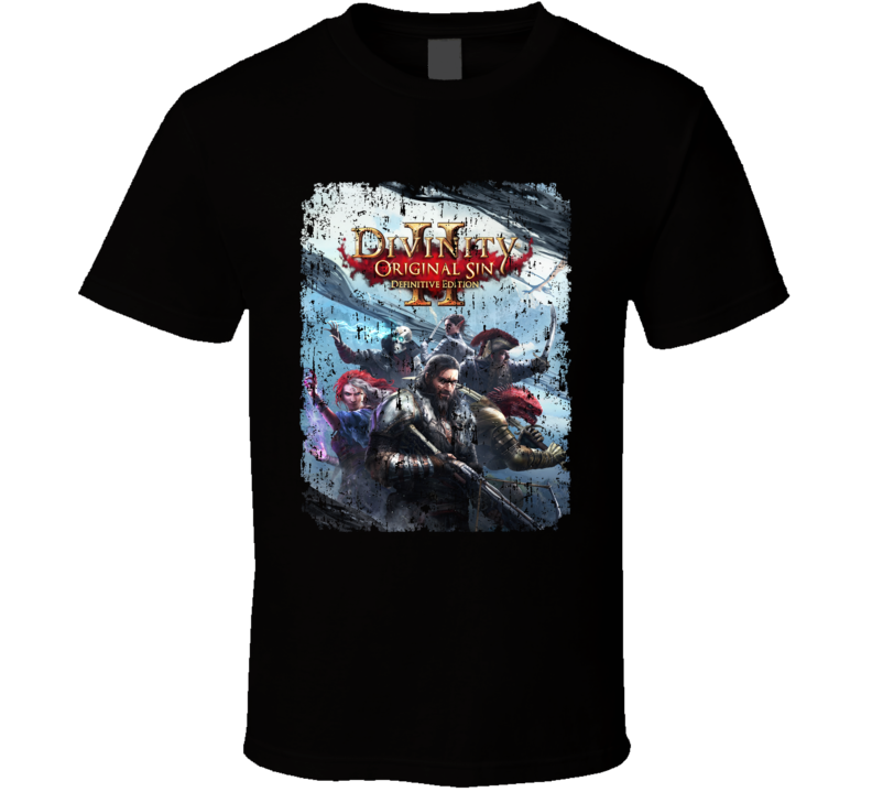 Divinity Original Sin Video Game Action Rpg Definitive Aged T Shirt