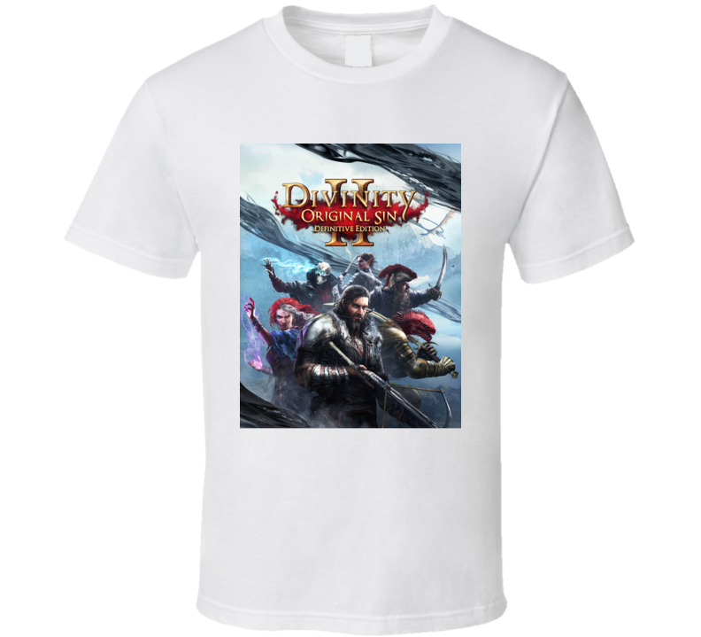 Divinity Original Sin Video Game Action Rpg Definitive T Shirt