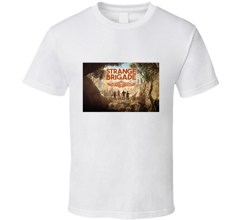 Strange Brigade Video Game Shooter Art T Shirt