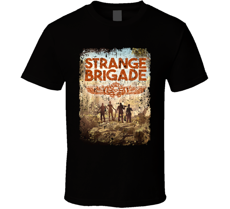 Strange Brigade Video Game Shooter Aged Cover T Shirt