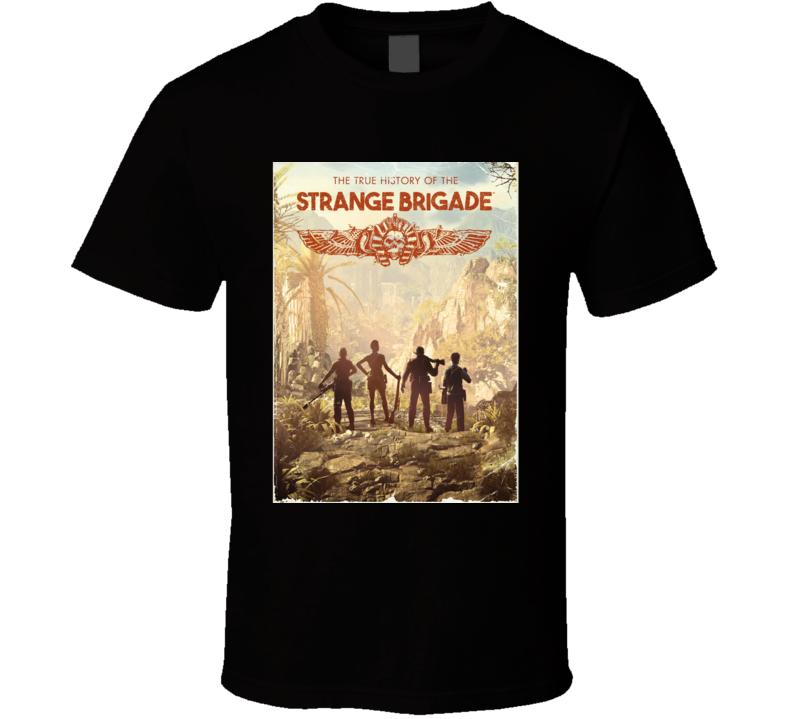 Strange Brigade Video Game Shooter Book Cover T Shirt