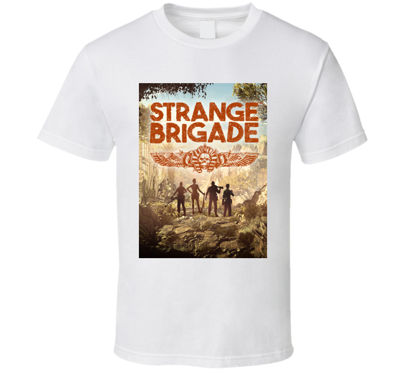 Strange Brigade Video Game Shooter Cover T Shirt