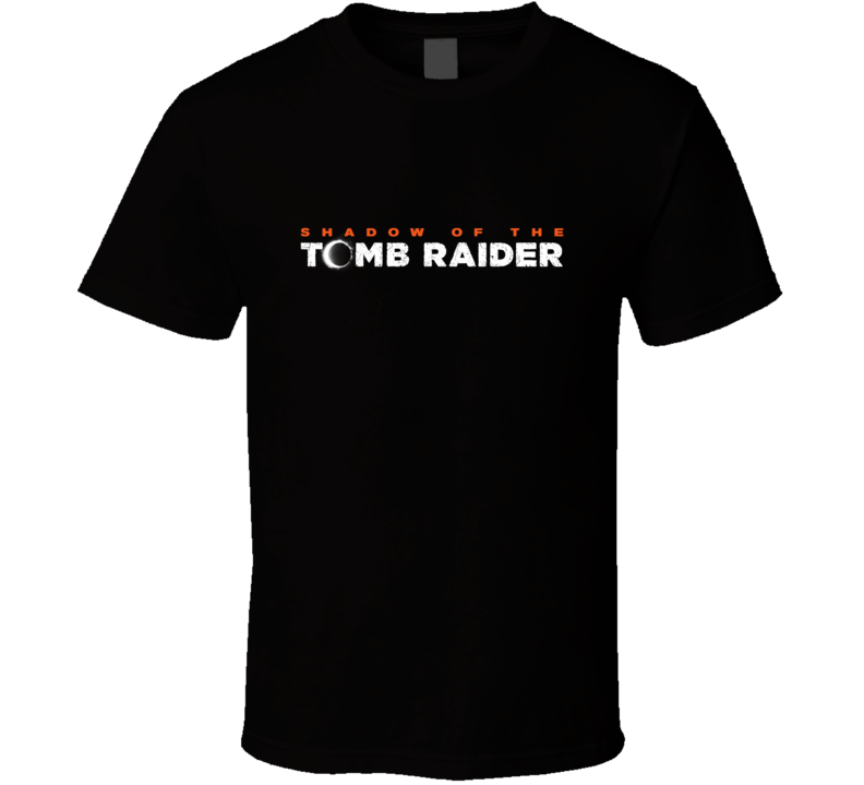 Shadow Of The Tomb Raider Video Game Logo T Shirt