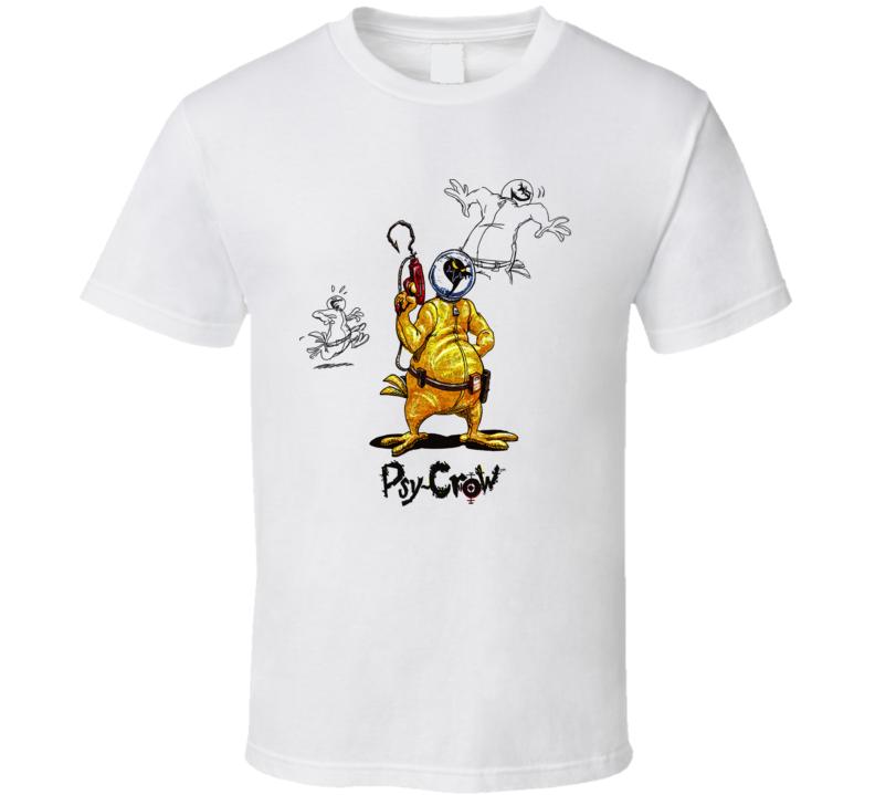 Earthworm Jim Psy Crow Video Game T Shirt