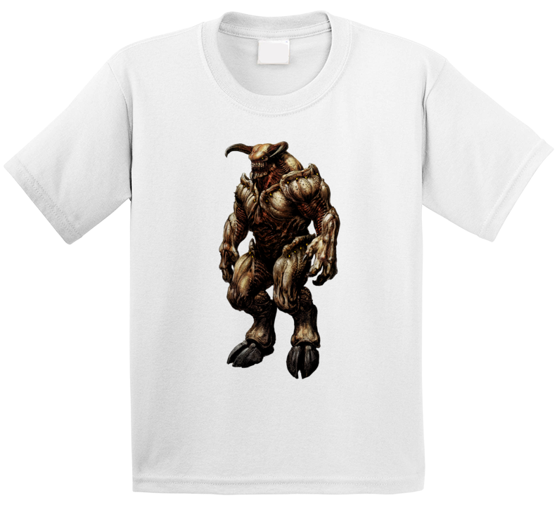 Doom Eternal Video Game Baron Of Hell Demons T Shirt