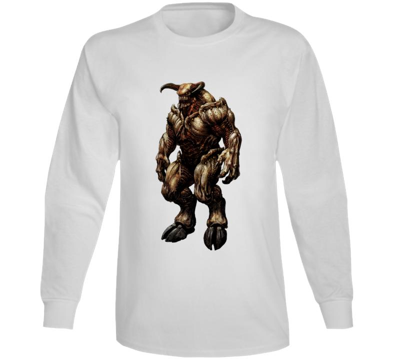 Doom Eternal Video Game Baron Of Hell Demons Long Sleeve