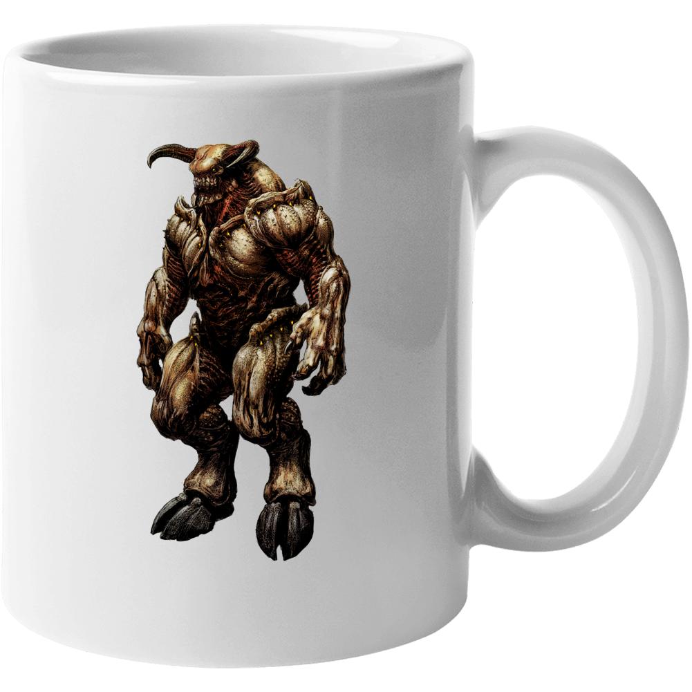 Doom Eternal Video Game Baron Of Hell Demons Mug