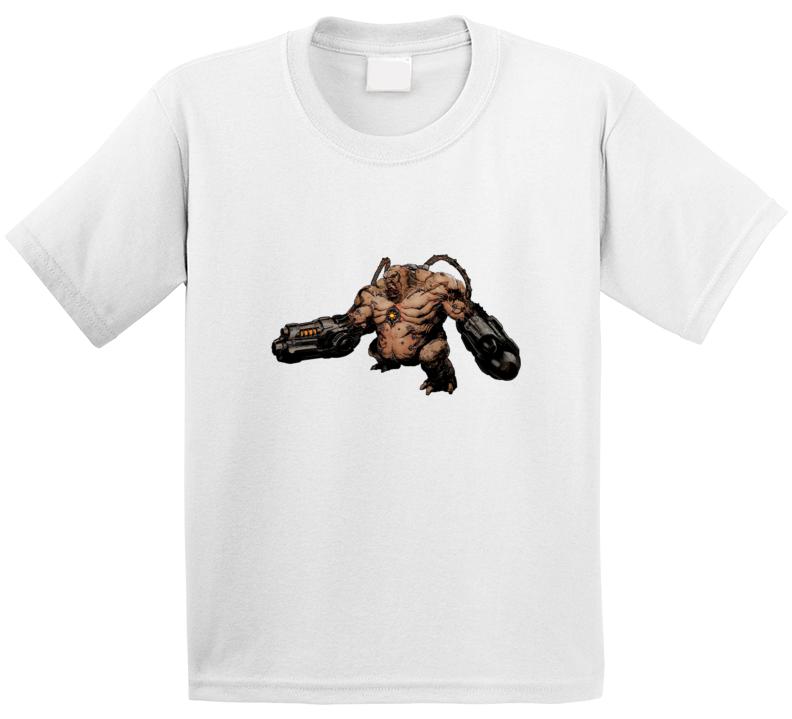 Doom Eternal Video Game Mancubus Demons T Shirt