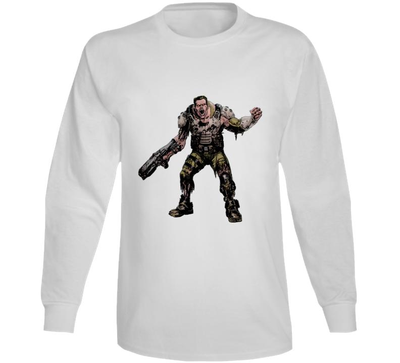 Doom Eternal Video Game Demon Soldier Zombie Long Sleeve