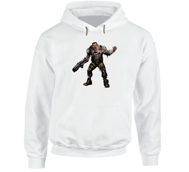 Doom Eternal Video Game Demon Soldier Zombie Hoodie