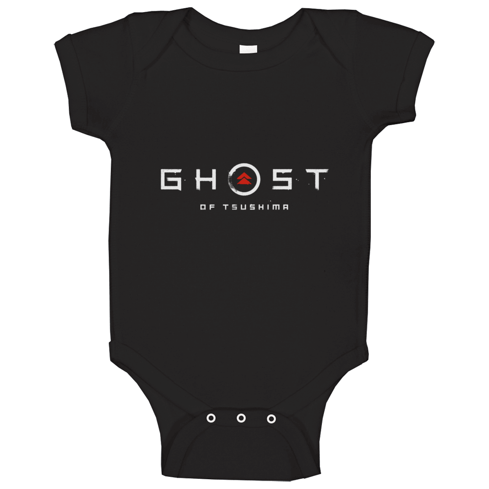 Ghost Of Tsushima Video Game Logo Baby One Piece