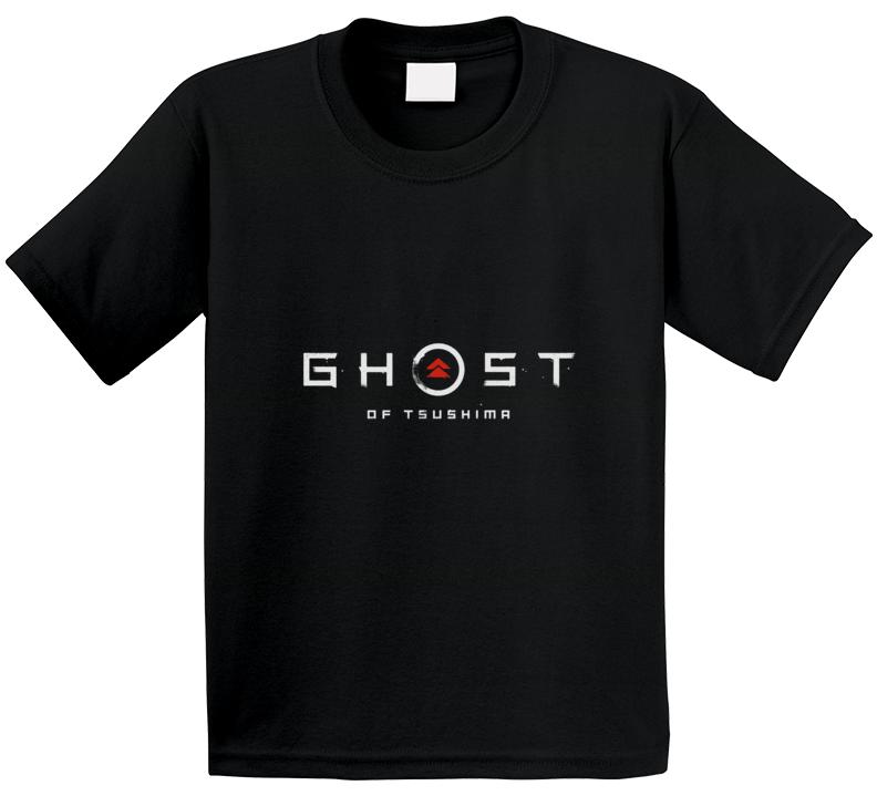 Ghost Of Tsushima Video Game Logo T Shirt