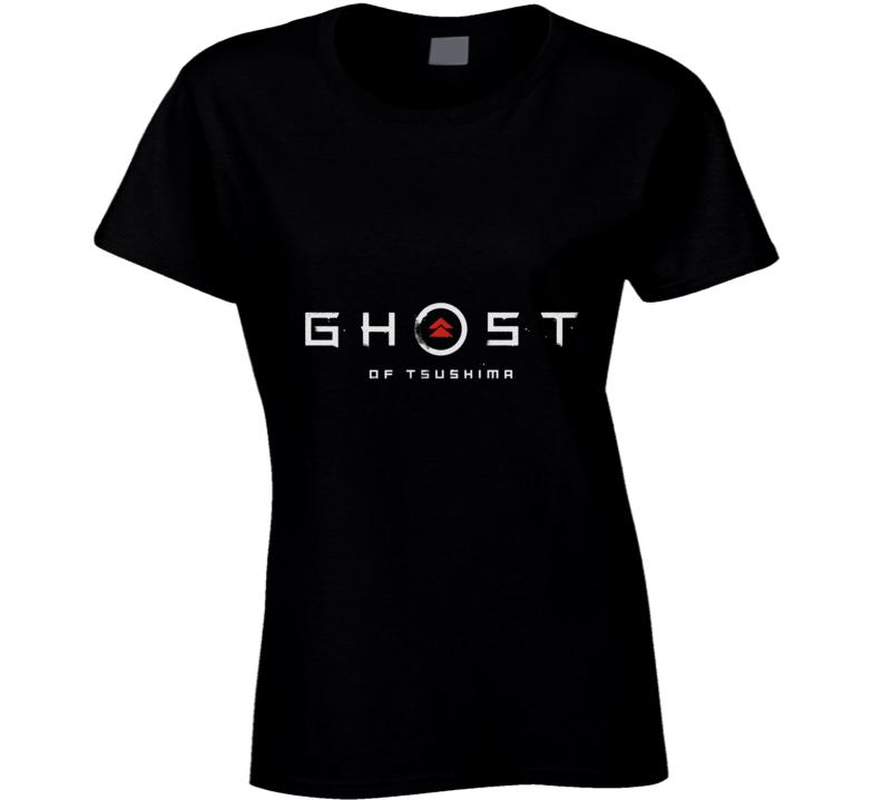 Ghost Of Tsushima Video Game Logo Ladies T Shirt
