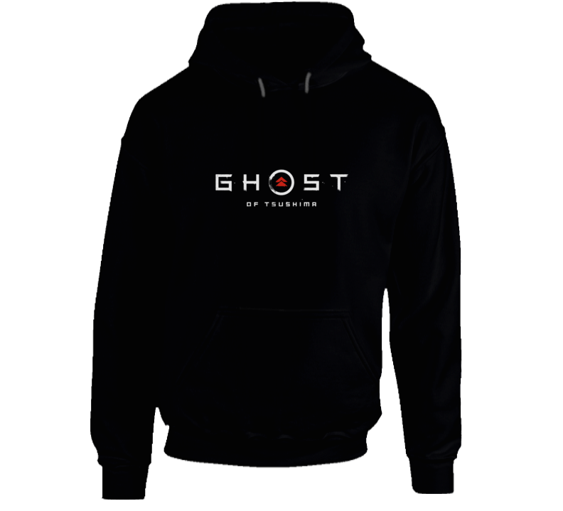 Ghost Of Tsushima Video Game Logo Hoodie
