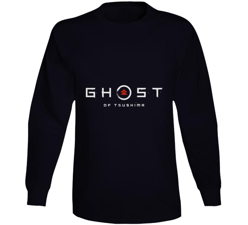Ghost Of Tsushima Video Game Logo Long Sleeve T Shirt