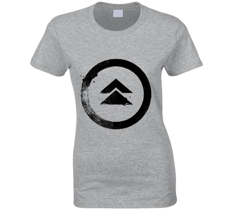 Ghost Of Tsushima Video Game Logo Symbol Ladies T Shirt
