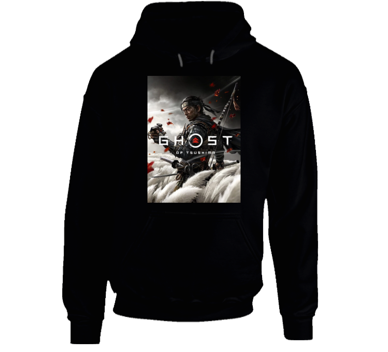 Ghost Of Tsushima Video Game Cover Art Hoodie