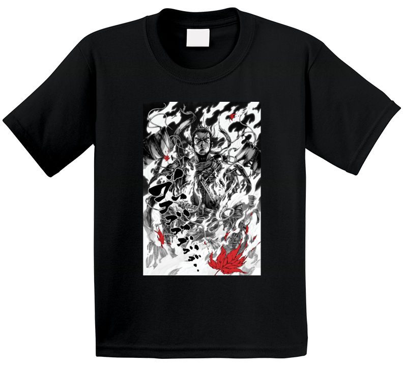 Ghost Of Tsushima Video Game Comic Art Page T Shirt