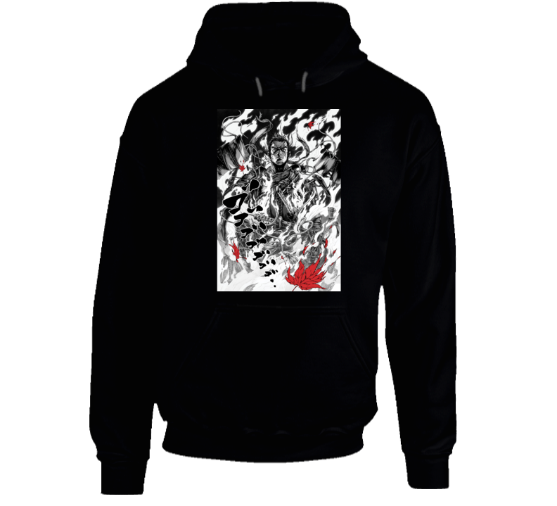 Ghost Of Tsushima Video Game Comic Art Page Hoodie