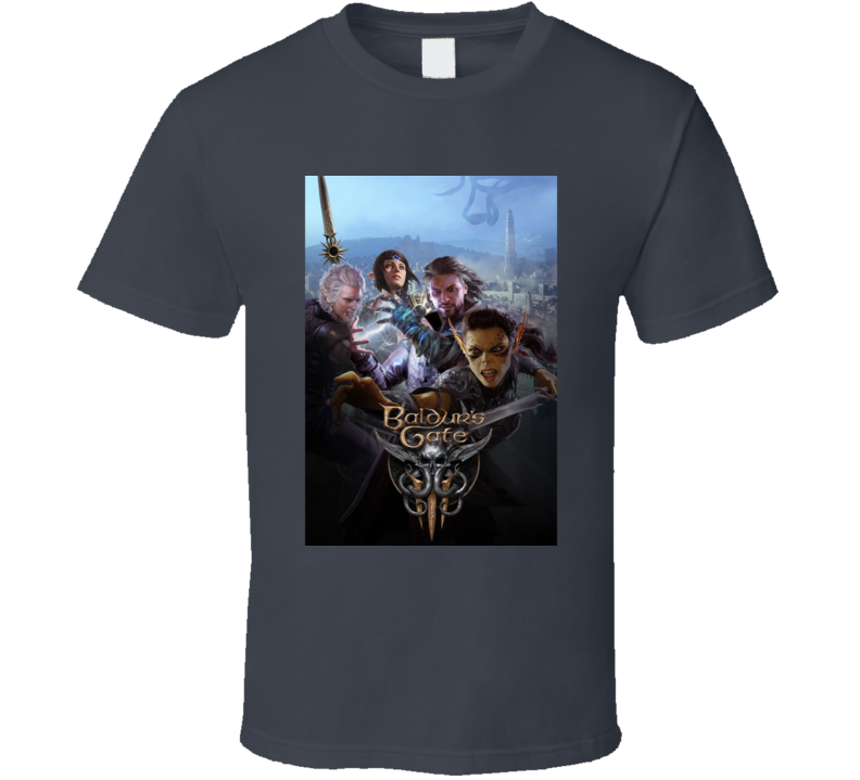 Baldurs Gate 3 Dnd Rpg Video Game Art T Shirt