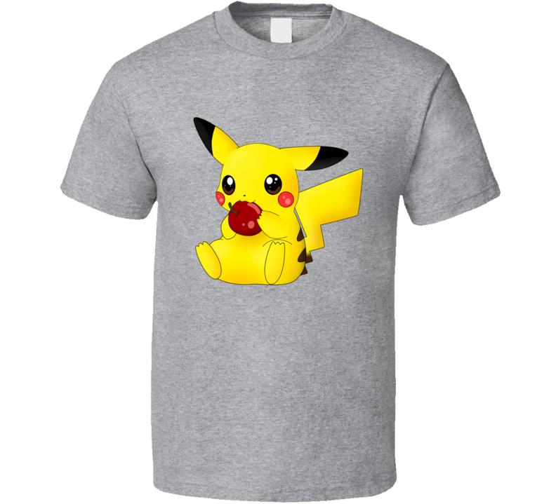 Pokemon Pikachu cute T Shirt