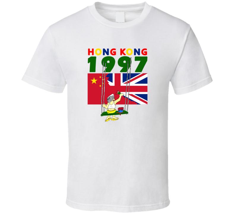 1997 Hongkong Tourist T Shirt