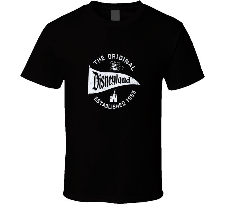 The Original Disneyland Established 1955  T Shirt