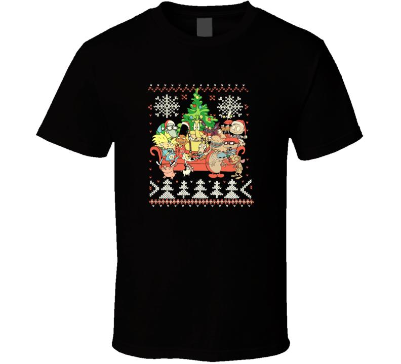 Nickelodeon Christmas  T Shirt