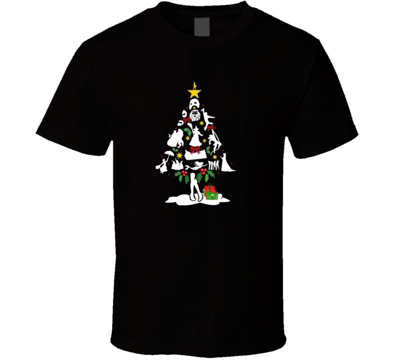 Broadway Musical Theatre Christmas  T Shirt