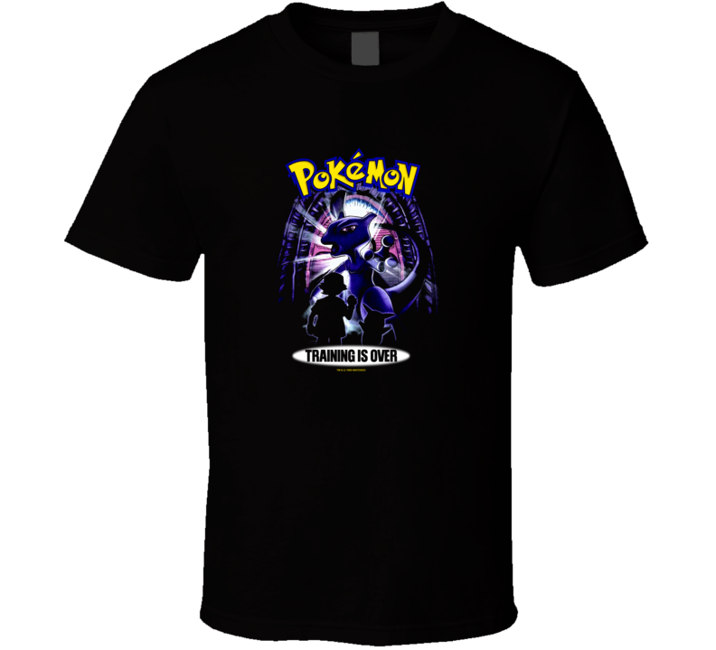Pokemon Training Is Over  T Shirt