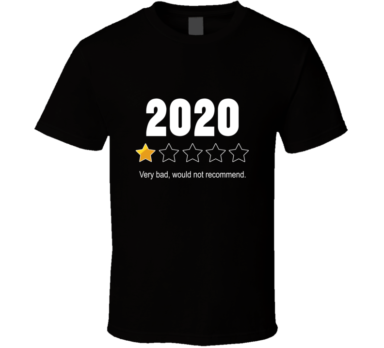 1 Out Of 5 Stars 2020 Rating T Shirt