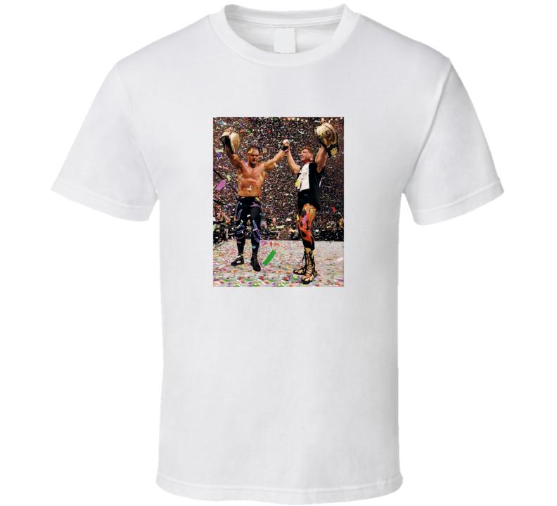 Chris Benoit And Eddie Guerreo T Shirt