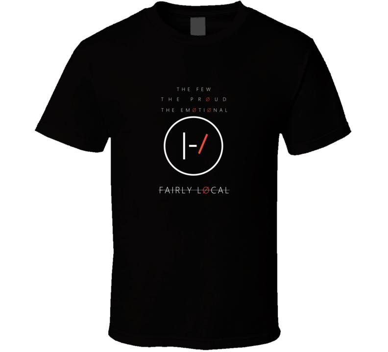 Twenty One Pilots Fairly Local T Shirt