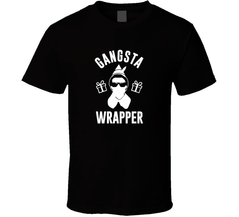 Gangsta Wrapper Elf T Shirt