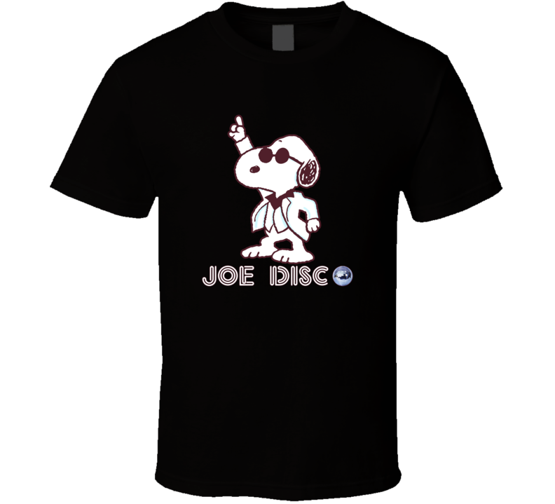 Snoopy Joe Disco Peanuts - Light Pink T Shirt