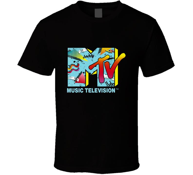 Vintage Retro Mtv T Shirt
