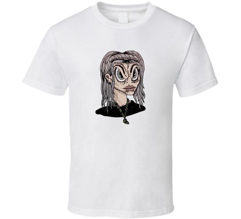 Billie Eilish Concert Cartoon Anime T Shirt