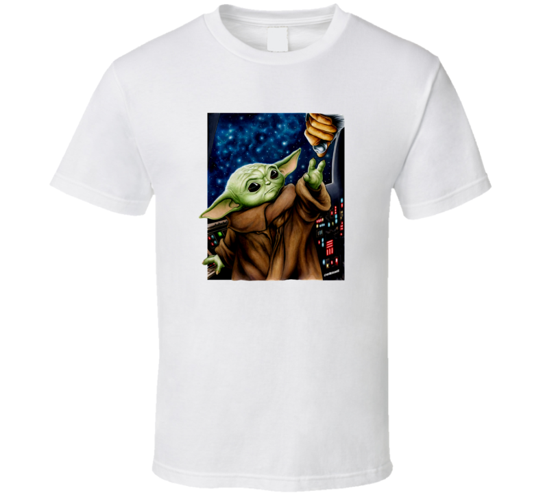 The Child Baby Yoda Star Wars - Royal Blue T Shirt