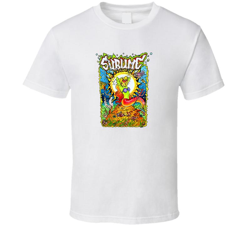 Sublime Mermaid T Shirt