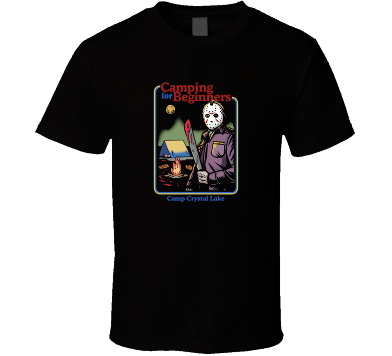 Friday The 13th Camping For Beginners T Shirt
