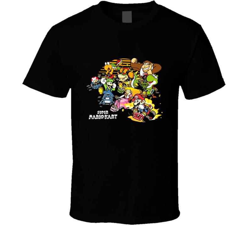 Super Mario Kart 02 T Shirt