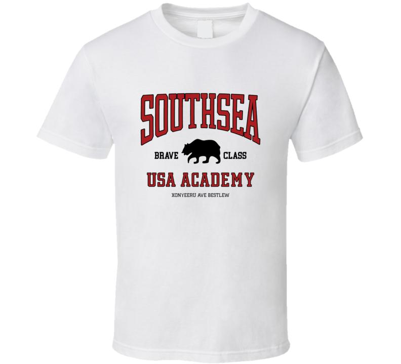 Southsea Brave Class Usa Academy T Shirt