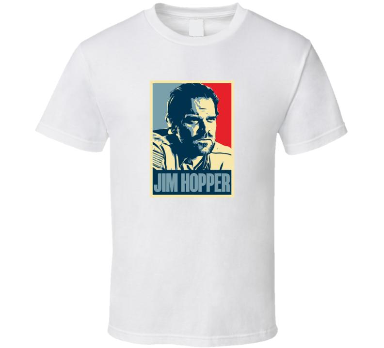 Jim Hopper Stranger Things T Shirt